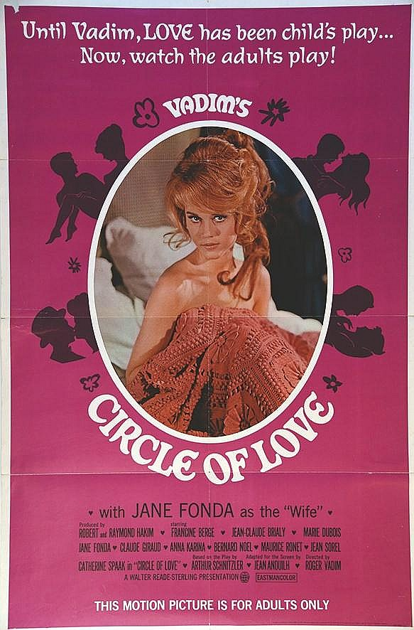 Circle of love ( La Ronde ) Vadim Jane Fonda     1965