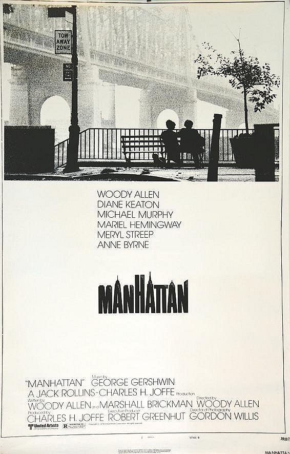 Manhattan - one sheet     1979