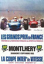 BELIGOND  Montlhéry 11 Sept 1966 - Les Grands Prix de France.     1966  Montlhéry (Essonne )