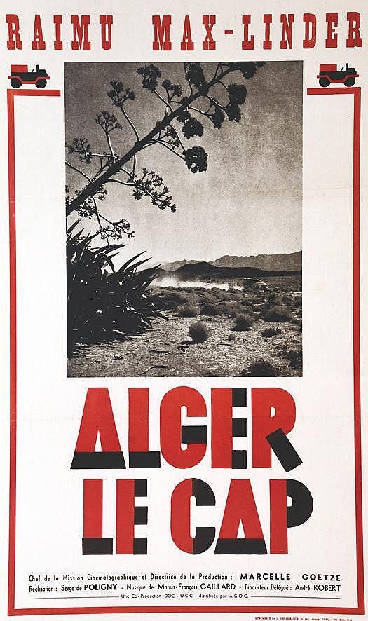 Alger le Cap - Raimu Max-Linder     1930