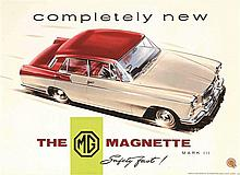 MG - Completly new The MG Magnette Mark III safety fast !.     1959