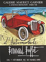 BUFFET BERNARD  Bernard Buffet - L'Automobile     1985  Paris