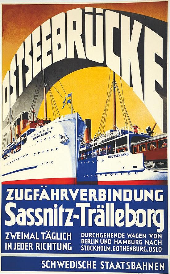 Osteseebrûcke     vers 1930