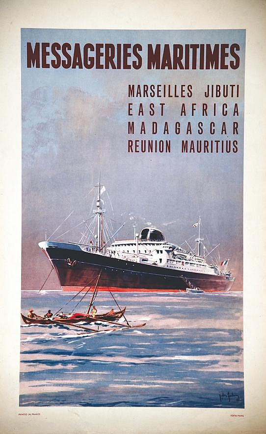 DESGACHONS ANDRE  Messageries Maritimes     vers 1950