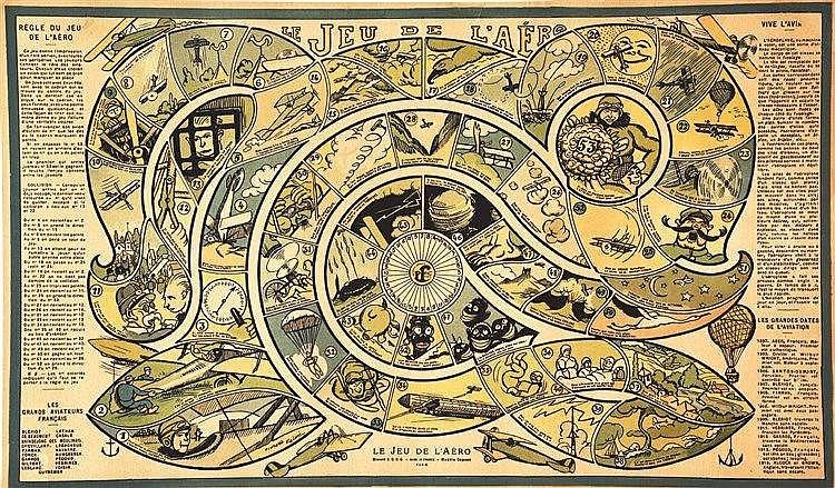 Le Jeu de L'aéro vers 1910