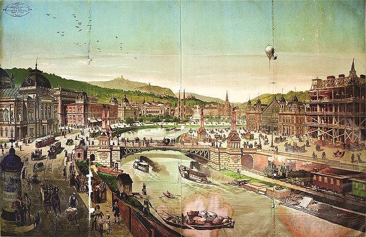 Budapest     vers 1890