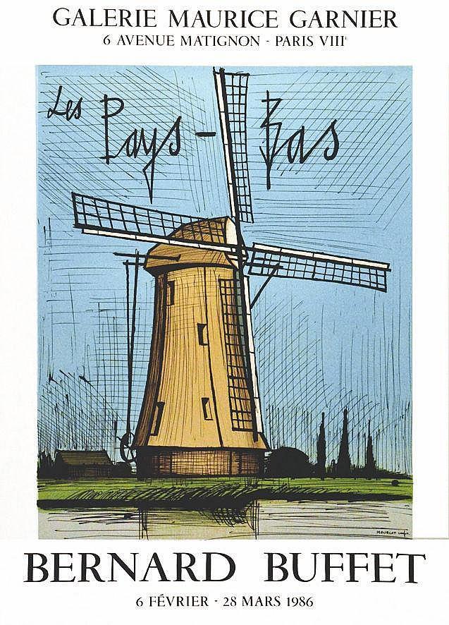 BUFFET BERNARD  Bernard Buffet - Les Pays-Bas     1986  Paris