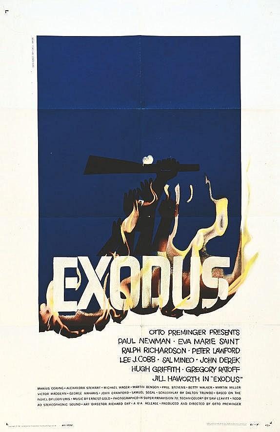 Exodus Otto Preminger     1961