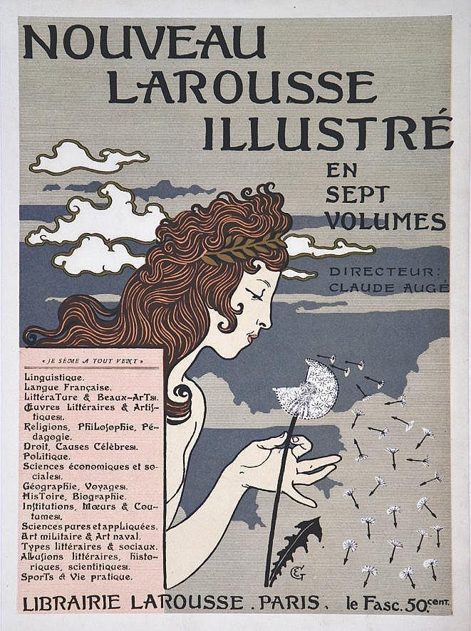 GRASSET EUGENE Nouveau Larousse Illustré vers 1900