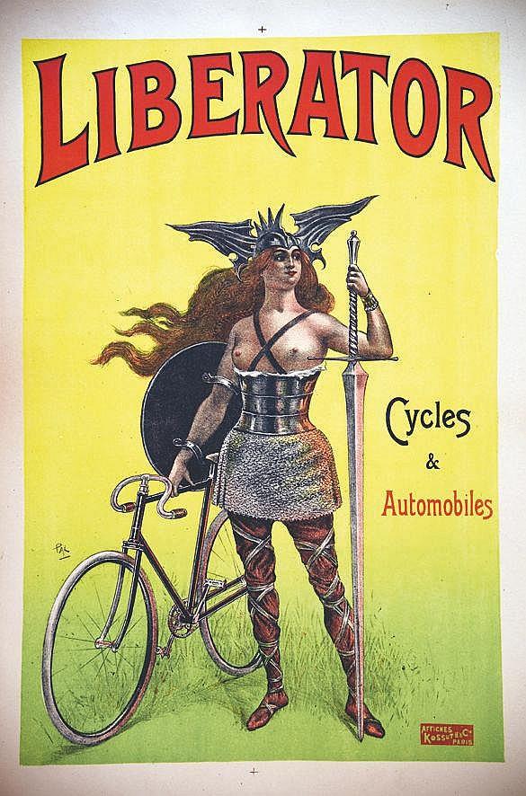 PAL  Liberator Cycles & Automobiles     vers 1900  Pantin - Seine Saint Denis