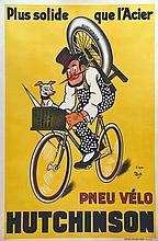 MICH (d'après)  Hutchinson - Pneu Vélo     1930