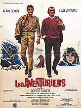 Les Aventuriers Alain Delon Lino Ventura     1967