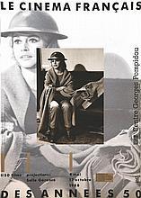 Le Cinéma Français des années 50 - Centre Georges Pompidou Brigitte Bardot     1988