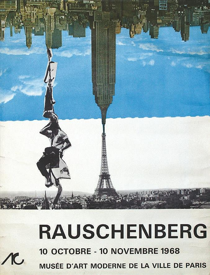 RAUSCHENBERG ROBERT  Robert Rauschenberg     1968