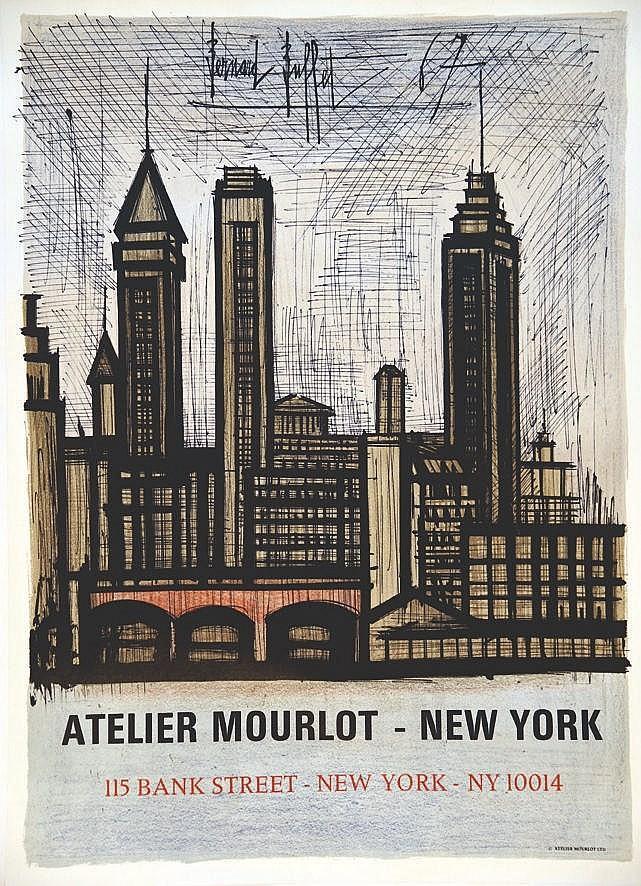 BUFFET BERNARD  Atelier Mourlot - New York     1967