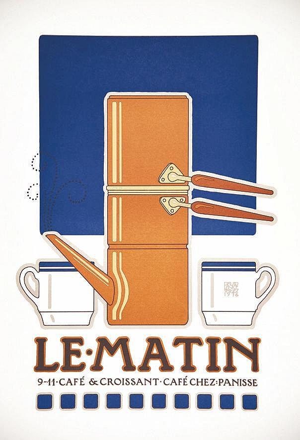 GOINES DAVID LANCE  Chez Panisse - Le Matin Café & Croissant Berkeley     1976