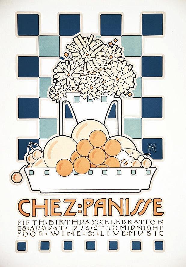 GOINES DAVID LANCE  Chez Panisse Fith Birthday Celebration Berkeley     1976