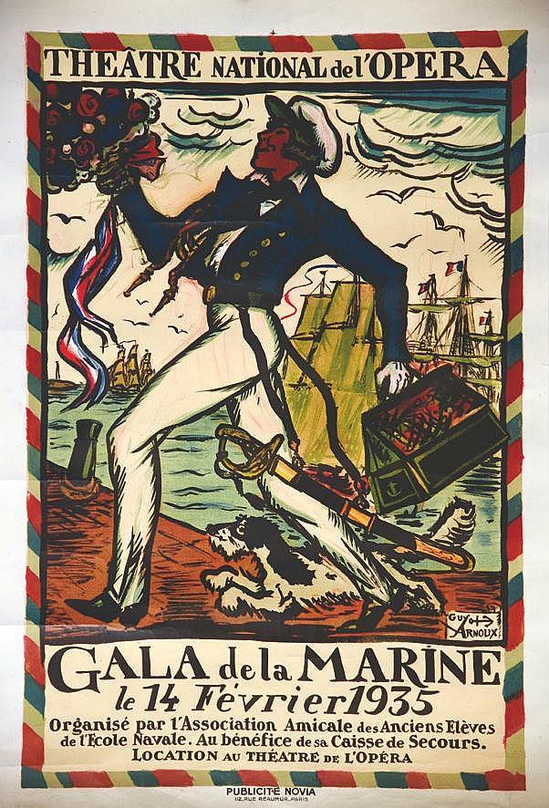 ARNOUX GUY Gala de la Marine le 14 Février 1935 1935