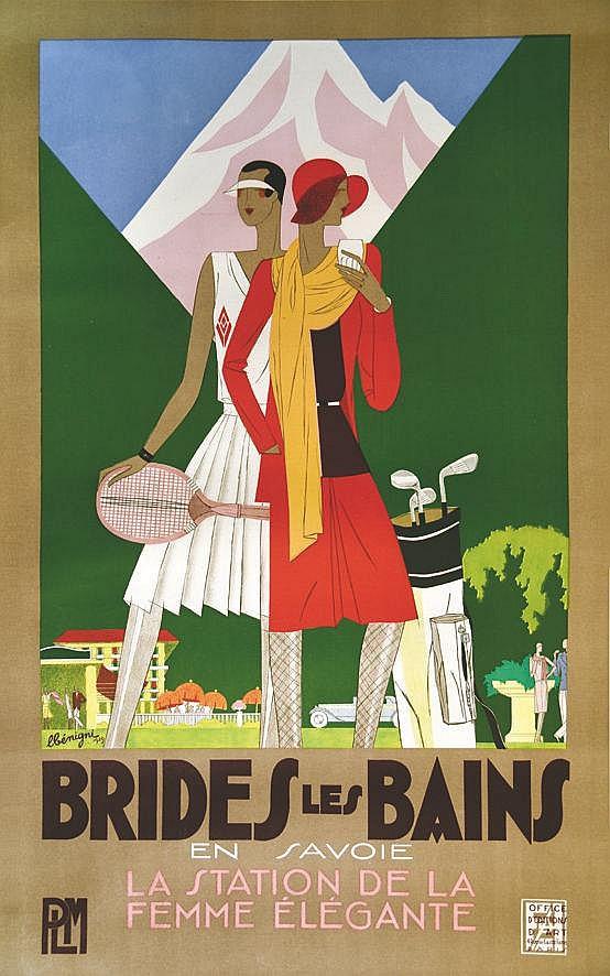 BENIGNI LEON Brides les Bains PLM 1929