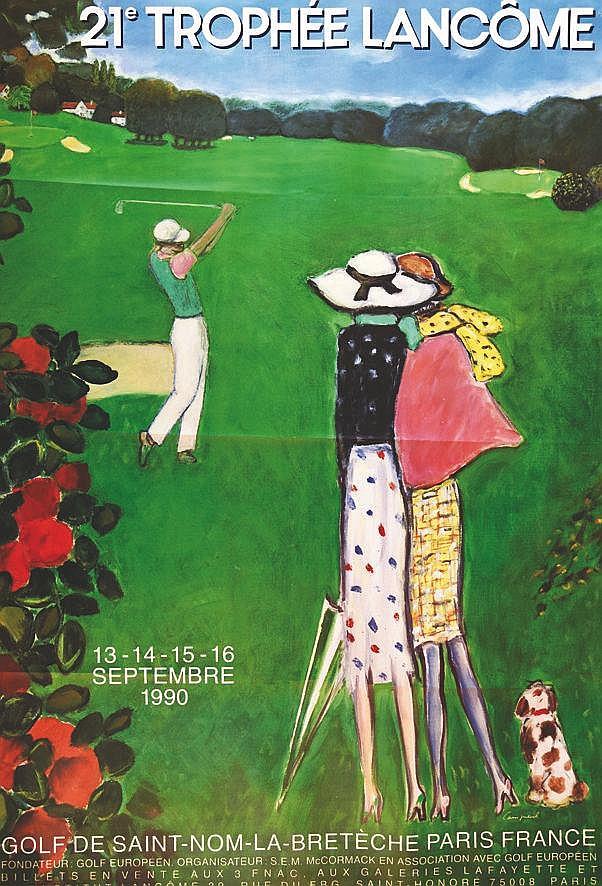 CASSIGNEUL 21 ème Trophée Lancôme 1990