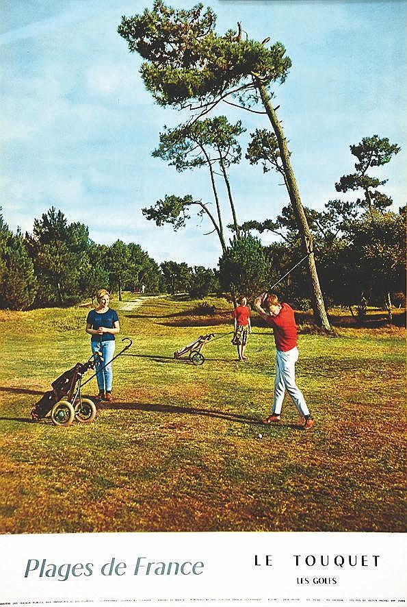 PHOTO : FRONVAL  Le Touquet - Les Golfs     1960