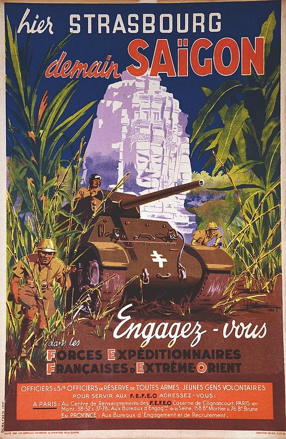 BAUDOUIN P. Engagez vous dans les Forces Expeditionnaires Française d'Extrème Orient 1944