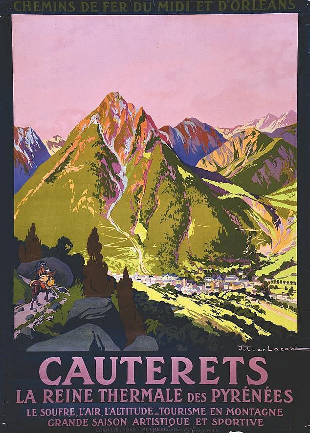LACAZE JULIEN Cauterets - La Reine Thermale des Pyrénées Tourisme en Montagne Grande Saison Artistique et Sportive