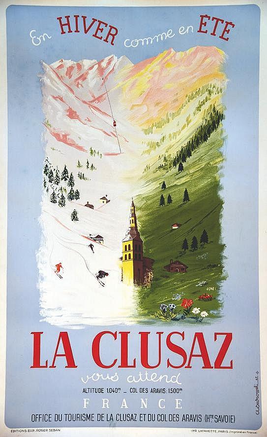 ASEDROWSKI La Clusaz 1947