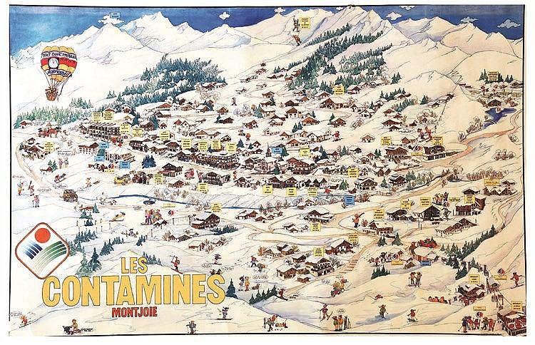 ROZIER SYLVIE Les Contamines Montjoie 1986