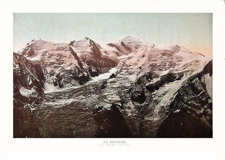 TAIRRAZ La Montagne- Sommet du Mont Blanc photo : Tairraz 1905