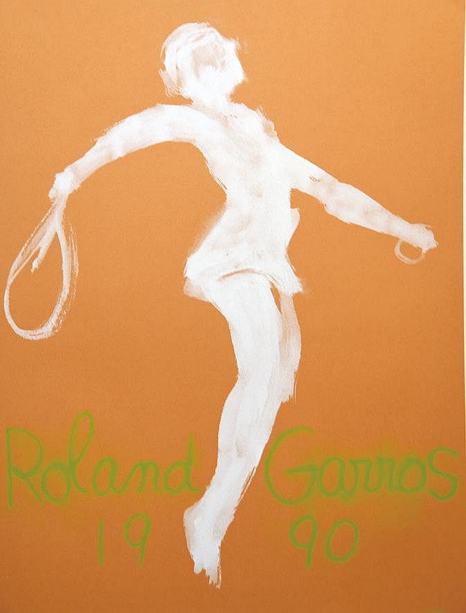 GARACHE  Roland Garros 1990     1990