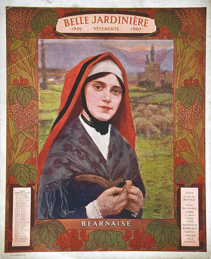 Béarnaise - La Belle Jardinière 1907