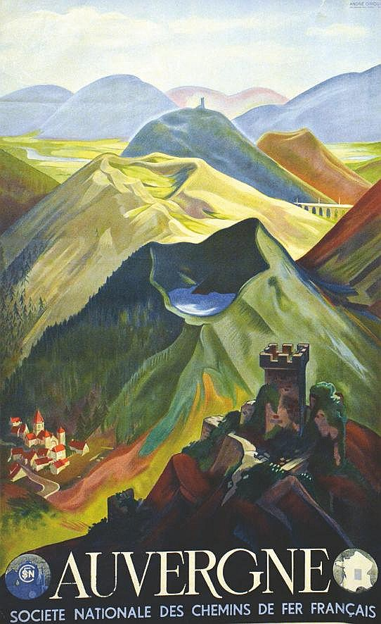 GIROUX ANDRE  Auvergne     1938