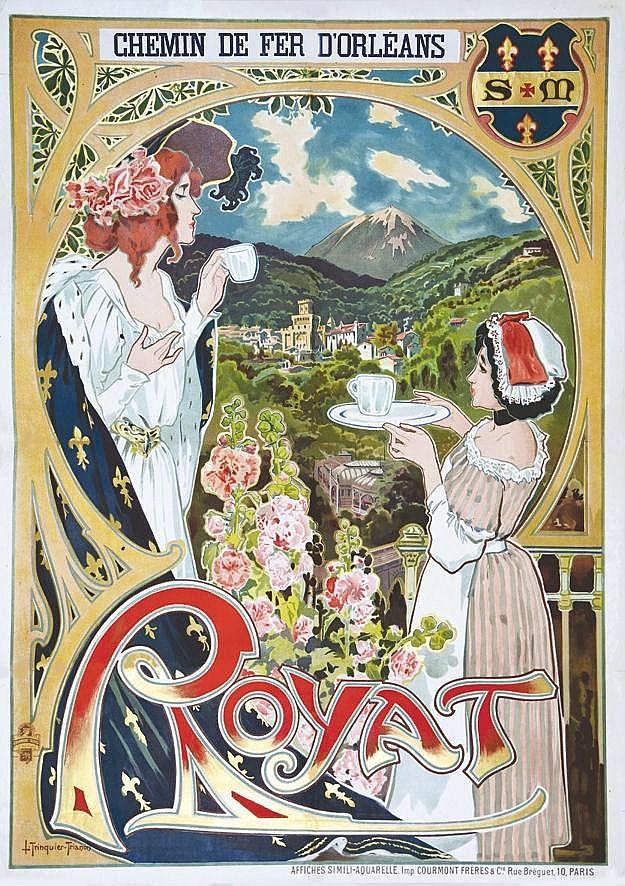 TRINQUIER TRIANON L.  Royat     vers 1900