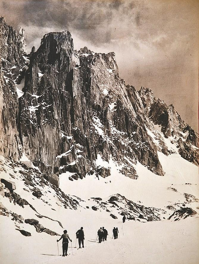 TARRAZ ? Randonnée dans les Alpes vers 1930