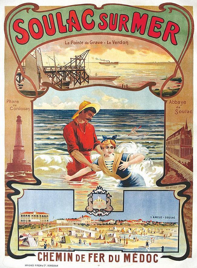 BOUDON  Soulac sur Mer     1909