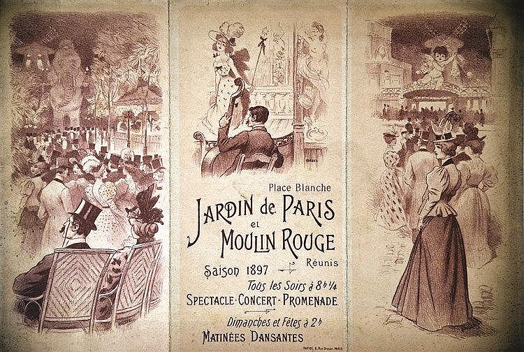 Moulin Rouge & Jardin de Paris Saison 1897     1897