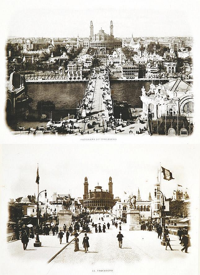 Exposition Universelle Paris 1900 lot de 33 photos 1900