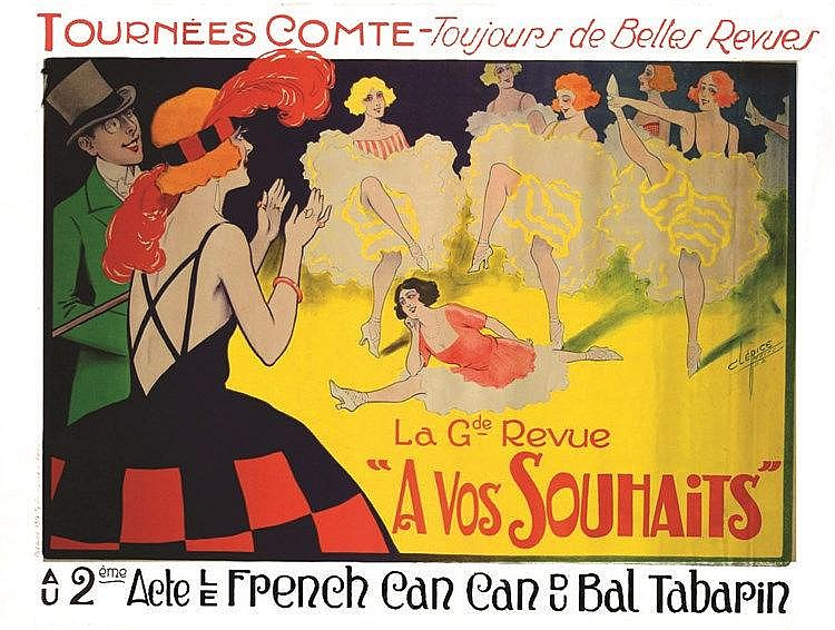 Le Frenche Cancan     1921