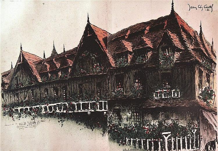 CONTEL Deauville Hôtel Normandie 1916