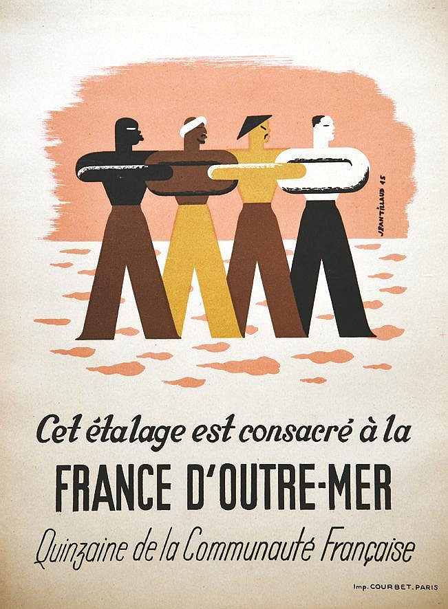 Tillaud Jean France d'Outre-Mer 1945