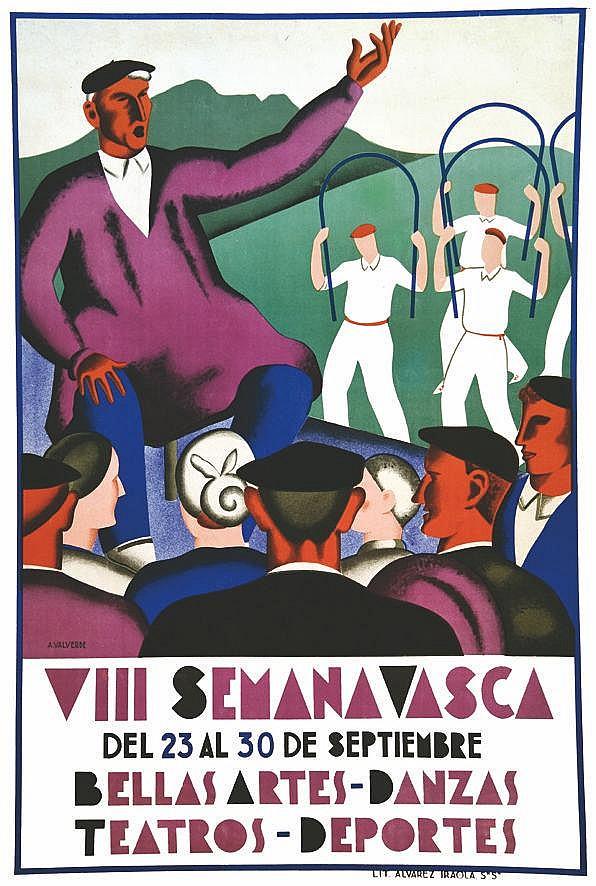 VALVERDE A.  VII Semana Vasca     vers 1930