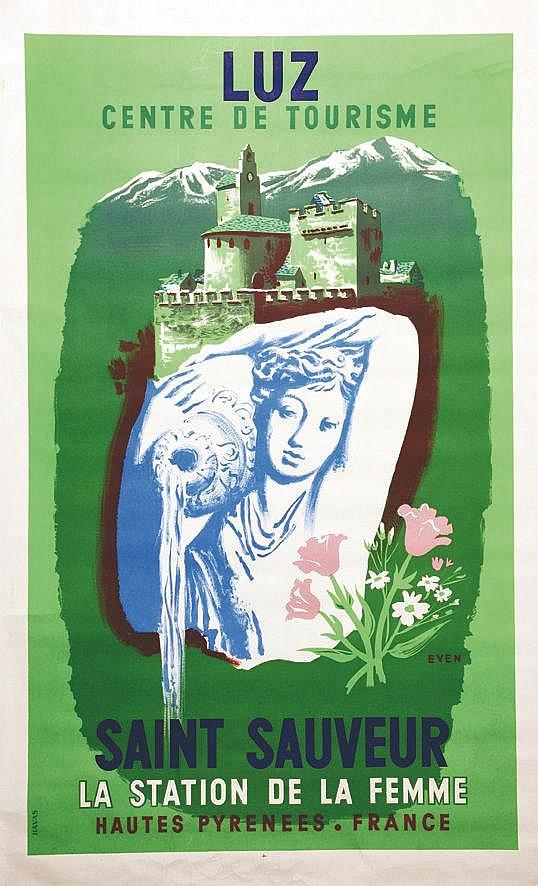 EVEN  Luz Saint Sauveur - Hautes Pyrénées     vers 1950