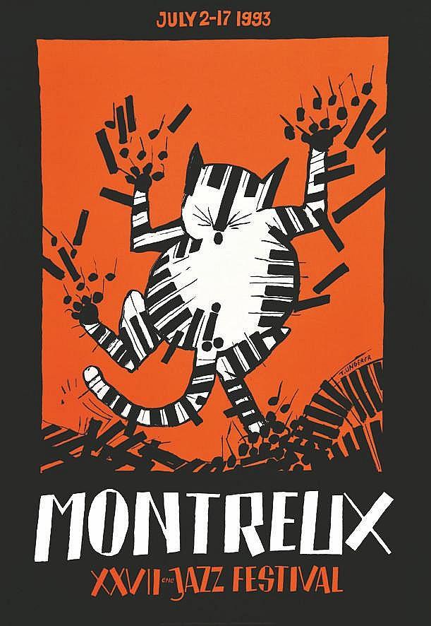 HUNGERER TONY  Montreux XXVII ème Jazz Festival     1993
