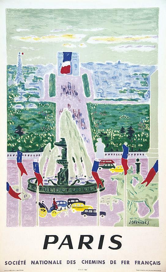 CAVAILLES JULES  Paris     1957