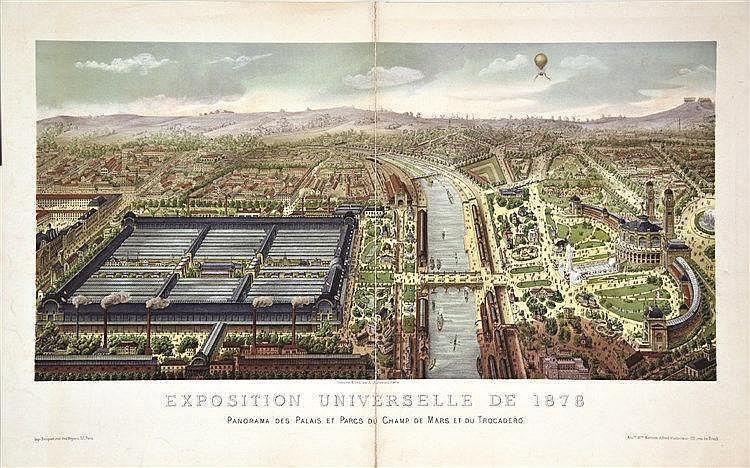 CHENEVEAU A.  Exposition Universelle de 1878     1878