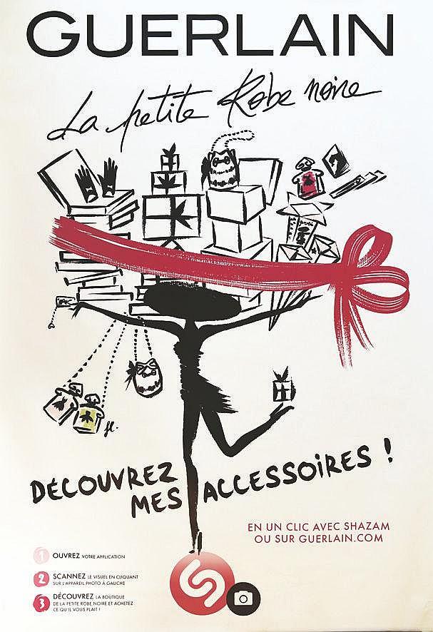 FL.  La Petite Robe Noire Guerlain Découvrez mes Accessoires     2015