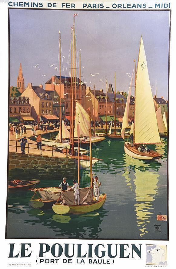 ALO Le Pouliguen - Port de La Baule 1934