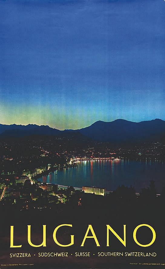 PHOTO : VICARI Lugano vers 1960