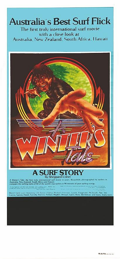 JM. EVANS  A Winter'S Tale - Surf Moovie     1974